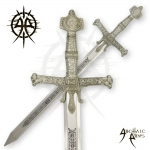 45 Inch King Solomon Sword By Archaic Arms