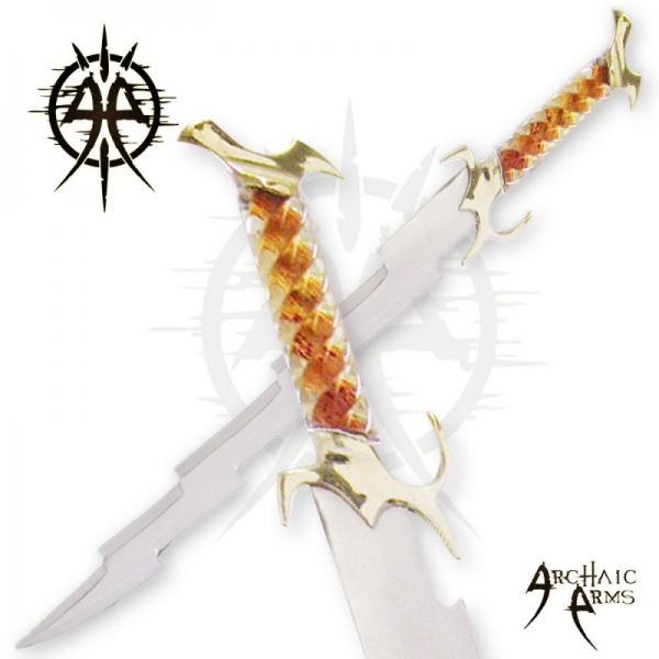 24''  Wizards Crystal Lighting Bolt Swordby  Archaic Arms