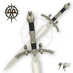26''  WitchKing Short Sword w/ Plaque  by Archaic Arms
