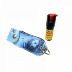 1/2 Oz Pepper Spray W/ Zombie Case Key Chain