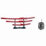 "3 PIECE SAMURAI SWORD SET 40"" OVERALL"