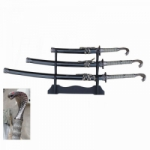 3 PIECE SWORD SET, COBRA HANDLE