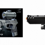 Double Eagle M39GL++ Spring Pistol with Scope, Laser and Barrel Extension