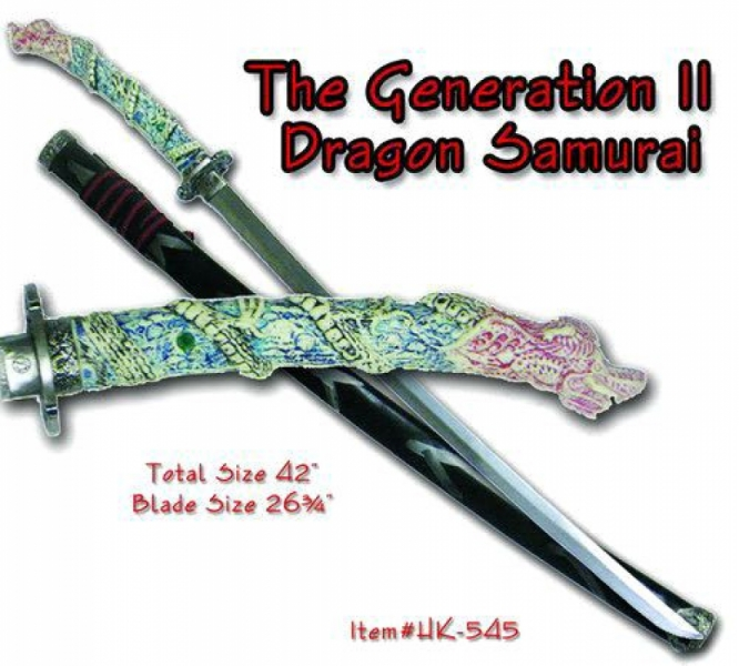 The Generation II Dragon Samurai Sword by Archaic Arms