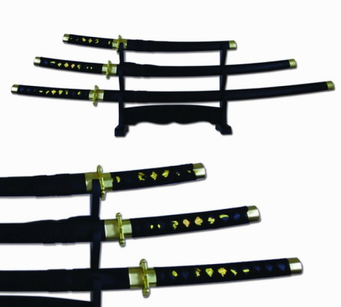 HIDDEN TIGER SAMURAI SWORD SET
