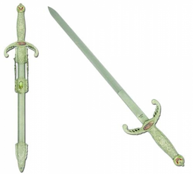 18''  Freedom Crusade Mini Sword w/Scabbard by Archaic Arms