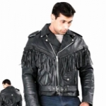 Mens Fringe Biker Jackets by BGD
