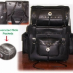 2 Pcs Heavy Touring Bag Set