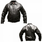 MENS BLACK BOMBER JACKET by BGD